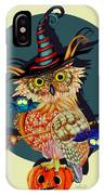 Owl Scary IPhone Case