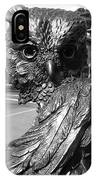 Owl Sculpture Grand Junction Co IPhone Case