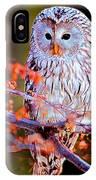 Owlrightythen IPhone Case