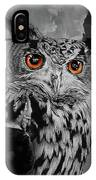 Owls Eye IPhone Case