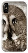 Owls Eyes -vintage Series IPhone Case
