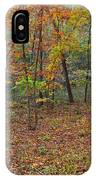 Ozark Forest In Fall 1 IPhone Case