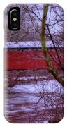 Pa Covered Bridge IPhone Case