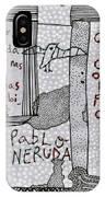 Pablo Neruda IPhone Case