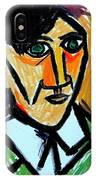 Pablo Picasso 1907 Self-portrait Remake IPhone Case