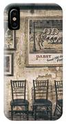 Pabst Good Old Time Flavor IPhone Case