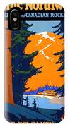 Pacific Northwest, American And Canadian Rockies, National Park IPhone Case