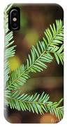 Pacific Yew IPhone Case