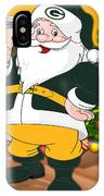 Packers Santa Claus IPhone Case
