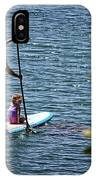 Paddle Board IPhone Case