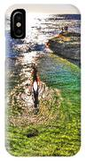 Paddle Boarding At La Jolla Beach IPhone Case