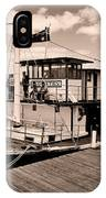Paddlesteamer IPhone Case
