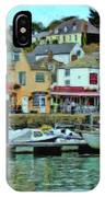 Padstow Harbour Slipway - P4a16023 IPhone Case