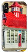 Pagoda Gas Station IPhone Case
