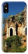 Pagoda In Ruins IPhone Case