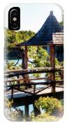 Pagoda Over The Lake IPhone Case