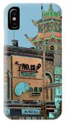 Pagoda Tower Chinatown Chicago IPhone X Case