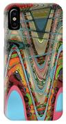 Paint Flow Collision IPhone Case