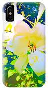 Paint Me In Water Color Said The Lilies To The Artist IPhone Case