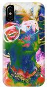 Paint Splash Pinup Art IPhone Case