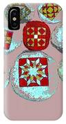 Painted Asteroids 9 IPhone Case
