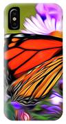 Painted Butterfly IPhone Case