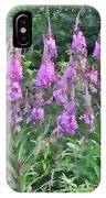 Painted Fireweed IPhone Case