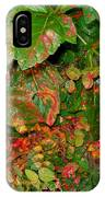 Painted Plants IPhone Case