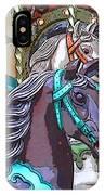 Painted Ponies IPhone Case