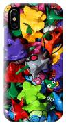 Painted Toys IPhone Case