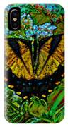 Painted Yellow Swallowtail IPhone Case