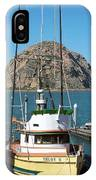 Painting The Trudy S Morro Bay IPhone Case