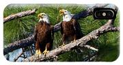 Pair Of American Bald Eagle IPhone Case