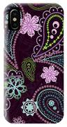 Paisley Abstract Design IPhone Case