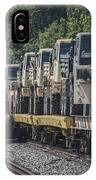 Pal Military Train Roll-by IPhone Case