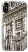 Palacio De San Telmo Facade IPhone Case