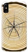 Pale Log End IPhone Case