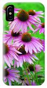 Pale Purple Coneflowers IPhone Case