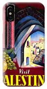Palestine Travel Poster IPhone Case