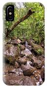 Palikes Stream Along Trail IPhone Case