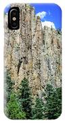 Palisades - Cimarron Canyon State Park - New Mexico IPhone Case
