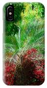 Palm And Azaleas IPhone Case