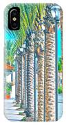 Palm Columns IPhone Case