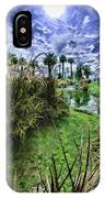 Palm Desert Sky IPhone Case