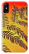 Palm Frond In The Summer Heat IPhone Case