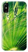 Palm House Branch IPhone Case