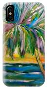 Palm Tree Color Times Two IPhone Case