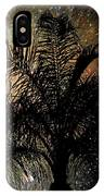 Palm Tree Fireworks IPhone Case