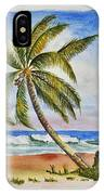 Palm Tree Ocean Scene IPhone Case