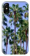 Palm Trees. California, Sunny Beauty IPhone Case